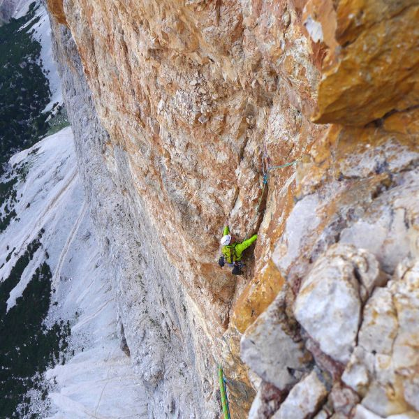 Dolomieten klimmen